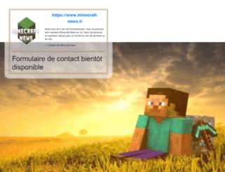 minecraft-news.fr screenshot