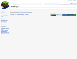 minecraft-wiki.nl screenshot