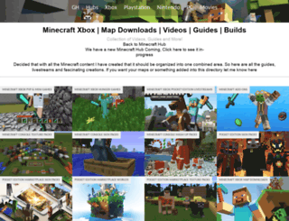 minecraft.gamerheadquarters.com screenshot