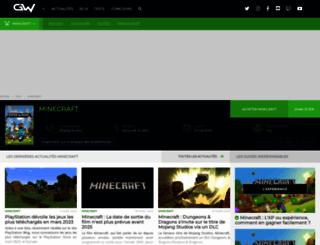 minecraft.gamewave.fr screenshot