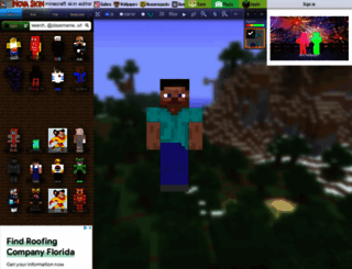 minecraft.novaskin.me screenshot