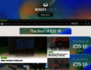 minecraft.wonderhowto.com screenshot