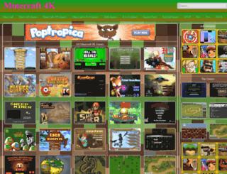 minecraft4k.com screenshot