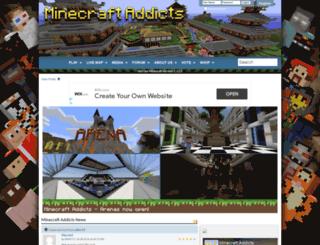 minecraftaddicts.com screenshot