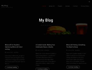 minecraftdata.com screenshot
