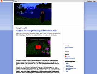 minecrafteduelfie.blogspot.com.au screenshot