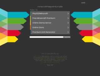 minecraftfreepremium.site screenshot