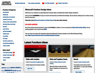 minecraftfurniture.net screenshot