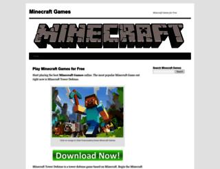 minecraftgamesb.com screenshot