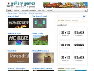 minecraftlegogames.com screenshot