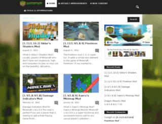 minecraftmod.info screenshot