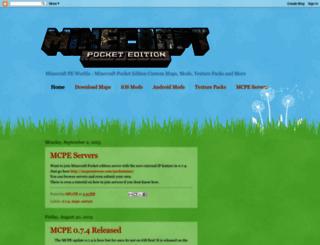 minecraftpeworlds.blogspot.co.uk screenshot