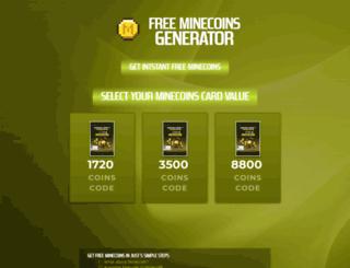 minecraftpremiumaccountgenerator2015.com screenshot