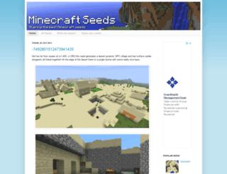 minecraftseeds.info screenshot