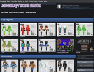 minecraftskinseditor.net screenshot