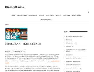 minecraftskinsfree.net screenshot