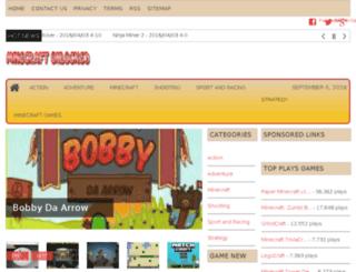 minecraftunlocked.net screenshot