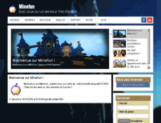 minefun.fr screenshot