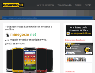 minegocio.net screenshot