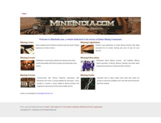 mineindia.com screenshot