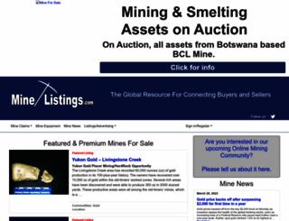 minelistings.com screenshot