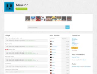minepic.org screenshot