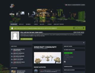mineplanet.de screenshot