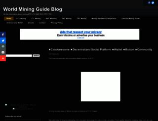 miner4world.blogspot.com screenshot