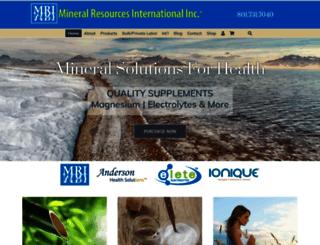 mineralresourcesint.com screenshot