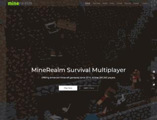 minerealm.com screenshot