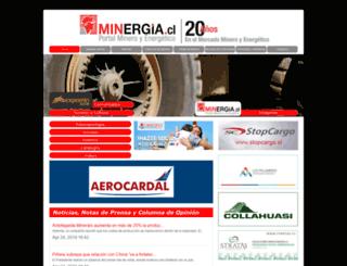 minergia.cl screenshot