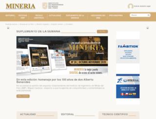 mineriaonline.com.pe screenshot