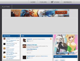 mineruniverse.enjin.com screenshot