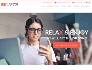 minervait.com screenshot