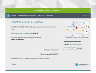 minervanovakf-c.cegbongeszo.hu screenshot