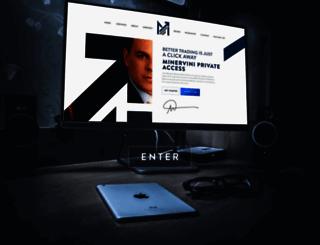 minervini.com screenshot