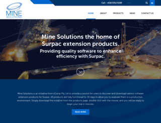 minesolutions.com screenshot