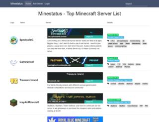 minestatus.com screenshot