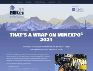 minexpo.com screenshot