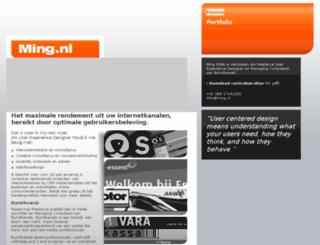 ming.nl screenshot