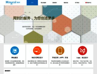 mingcol.com screenshot