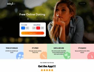 mingle2.com screenshot