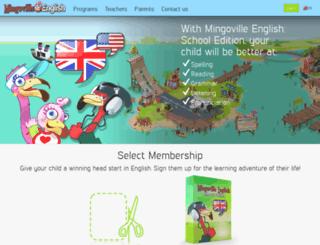mingoville.com screenshot