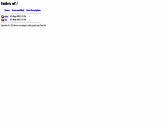 mingw-w64.yaxm.org screenshot