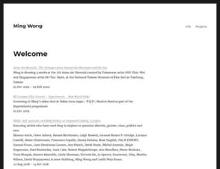 mingwong.org screenshot