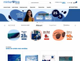 minhaoticaonline.com.br screenshot