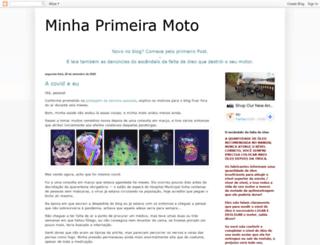 minhaprimeiramoto.blogspot.com.br screenshot