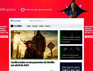 minhaserie.com.br screenshot