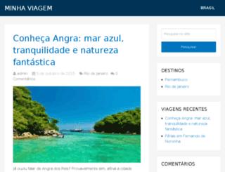 minhaviagem.org screenshot
