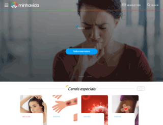 minhavida.com.br screenshot